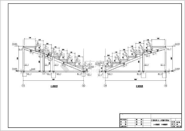 某电影院钢结构看台设计施工图