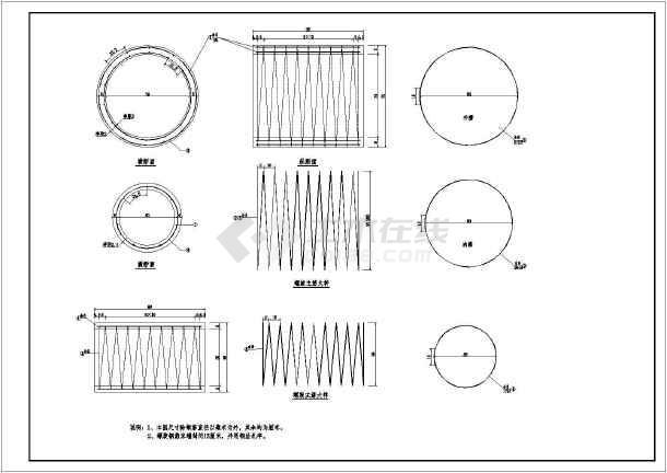 某地区圆管涵道路相关设计施工图(最新)-图3