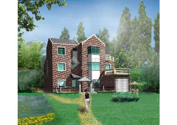 某别墅房子效果平面图 图1 高清图片