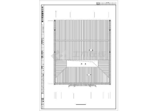 图纸内容包括:目录,建筑设计说明,门窗表,木雕构件统计表,底层平面