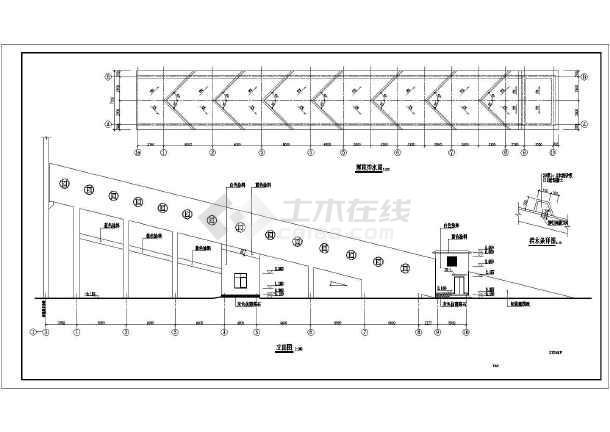 某地钢筋混凝土结构栈桥结构设计施工图