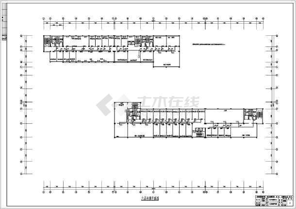 活动中心多联机加全热交换机空调系统暖通设计图-图3