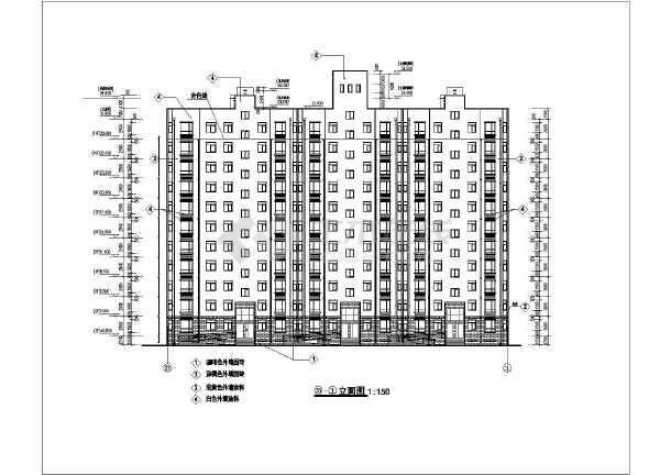 某地高层剪力墙结构住宅楼建筑方案图