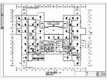 某八层办公楼多联机空调系统暖通设计图