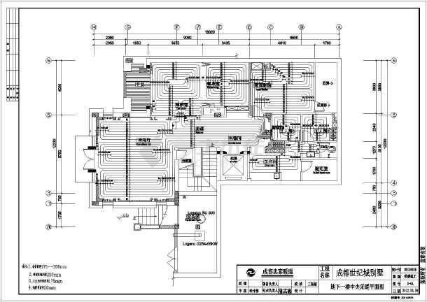 燃气热水锅炉房图纸_燃气热水锅炉系统图_燃气热水锅炉系统图大全下载_土木在线