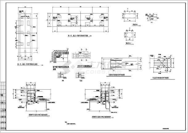 某洋房顶管设计图纸_cad通道下载施工小图纸一层图纸农村图片