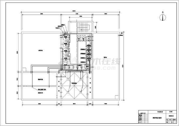 某设计院某学校800方每天中水回用系统设计图-图2