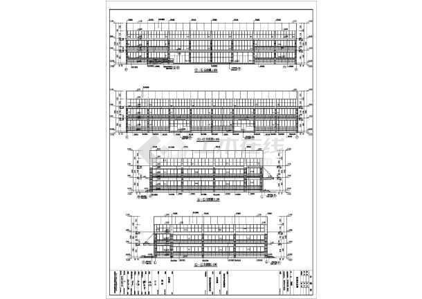 【四川】某中学体育馆建筑结构施工图图片