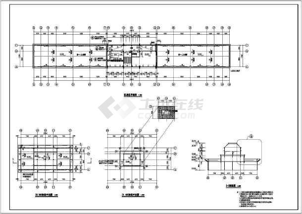 图纸 建筑图纸 教育建筑 中学教学楼设计图 某地多层欧式教学楼建筑图片