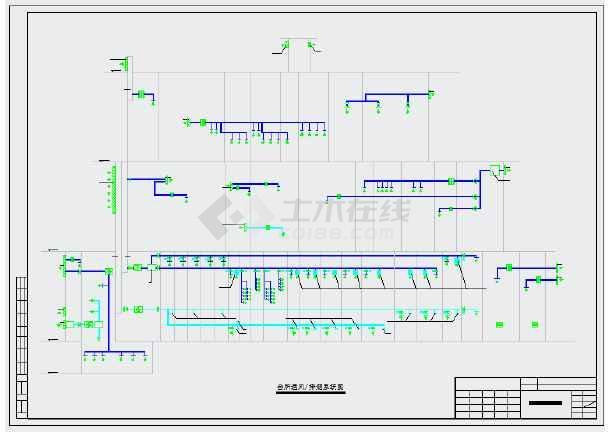 【成都】某会所暖通初步设计施工图纸-图2
