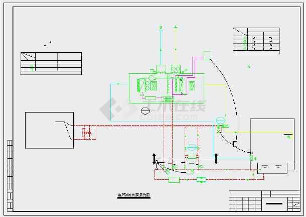 【成都】某会所暖通初步设计施工图纸-图3