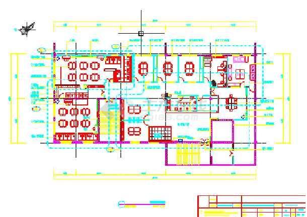 【安徽】某小型幼儿园建筑立面图设计图