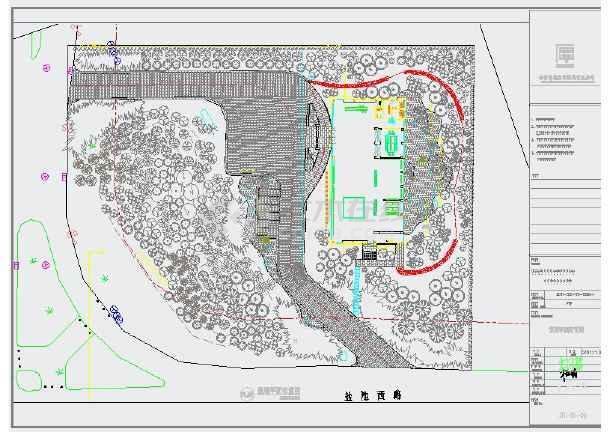 生态园大门设计图