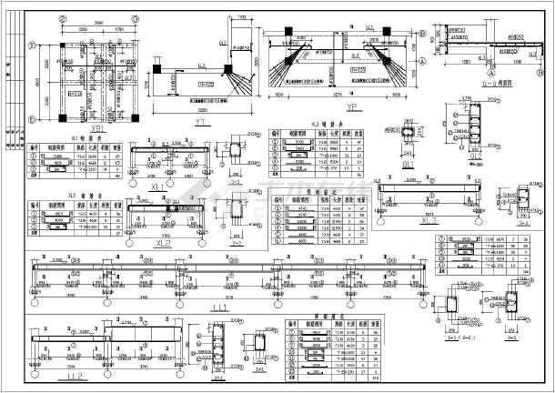 二层建筑结构平面图