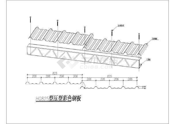 81个钢结构施工图常用节点大样大全