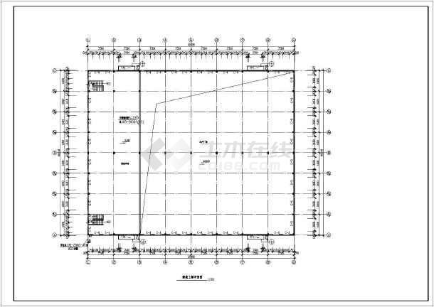 某地二层框排架结构厂房建筑,结构,电气设计施工图