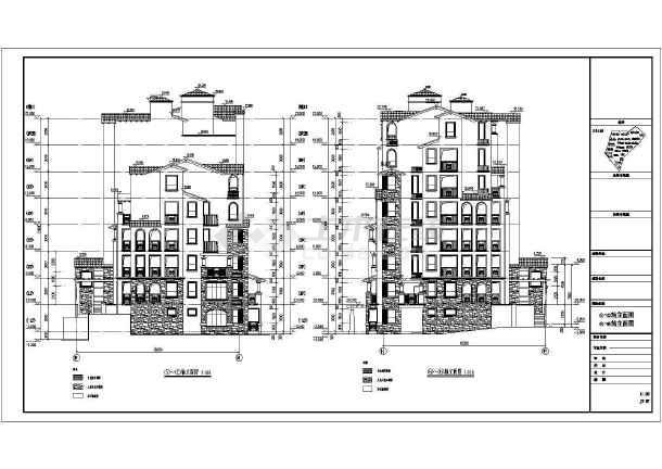 某住宅小区6层住宅楼建筑设计施工图