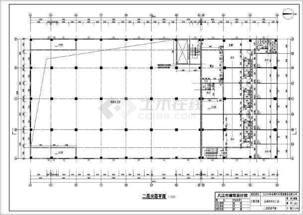结构部分:结构设计说明,桩基础平面图,柱定位图,梁配筋图,板配筋图,钢