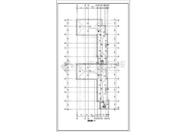 欧式联排别墅建筑设计图