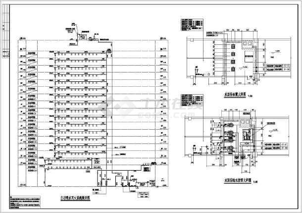 某16层框剪结构商住楼给排水及消防施工图