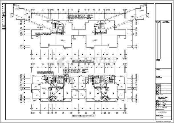 建筑总面积为6425.18平方米.剪力墙结构.