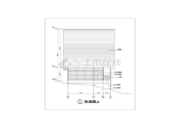 奉节三套小别墅木结构建筑设计施工图-图2