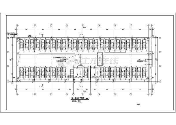 某地多层地下机械式车库建筑施工图