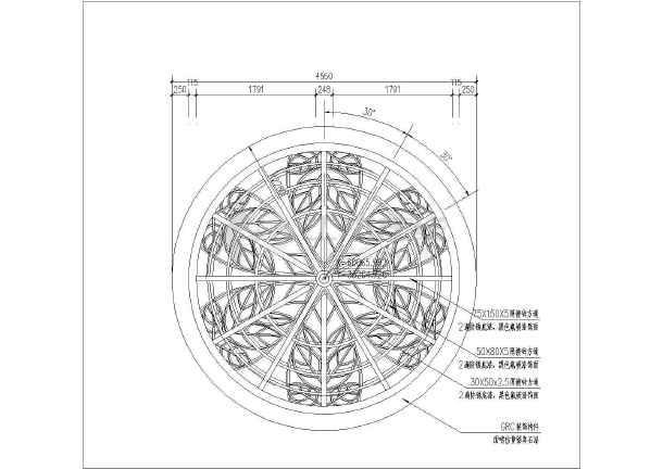 图纸 园林设计图 小品及配套设施 亭子与廊设计图 小区欧式景观亭建筑