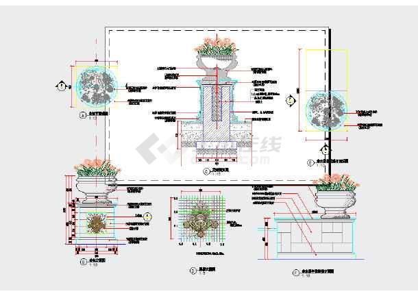 花境设计平面图