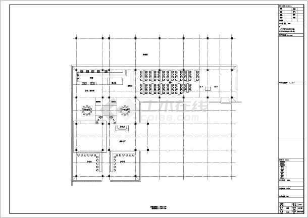四层框架结构驾校办公楼结构施工图(含建筑图)