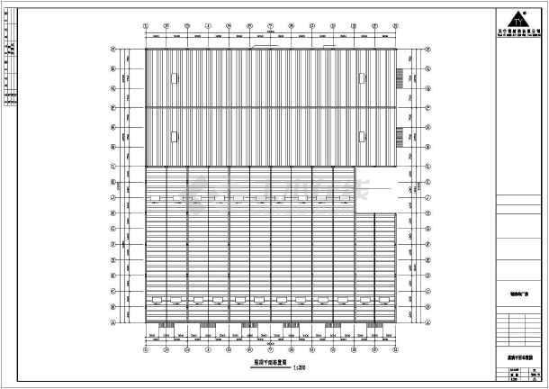 【南京】某石材公司钢结构工程CAD(共11张)-图2