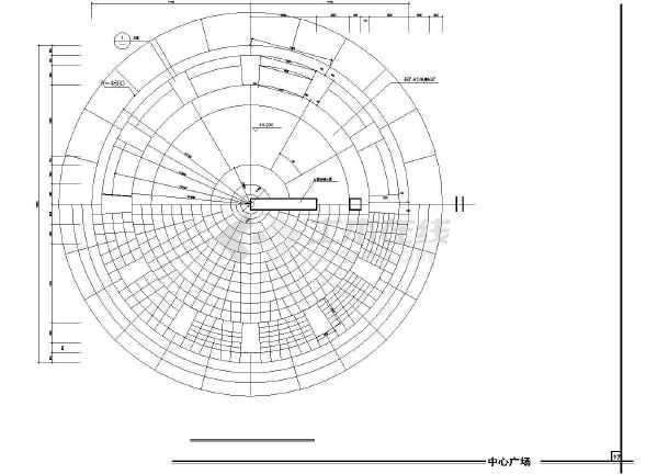 雕塑、休闲、城市广场建筑cad设计图(造型新颖)-图3