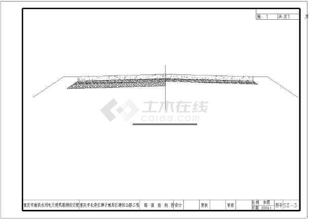 【重庆】长寿区狮子滩库区狮回公路工程初步设计图-图3