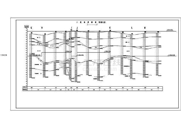 长沙/长沙某国际新城项目基坑支护工程完整图纸(审查后修改版)/图1