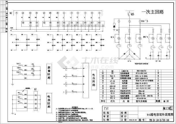 1000kva箱式变电站电气设计图纸图片