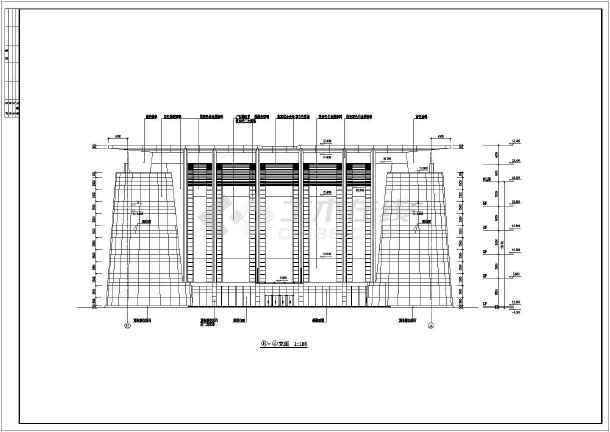 简介:这是某地区商场框架结构建筑施工全套图纸,包含:建筑施工设计总