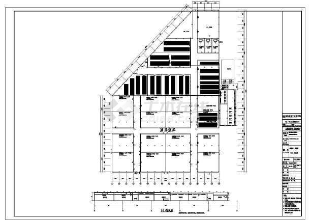 万吨氨制冷系统冷库全套设计施工图纸图片