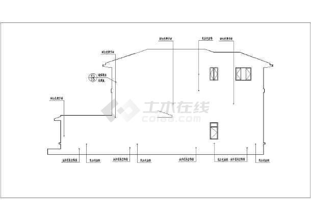 某地3层框架结构简欧式别墅建筑施工图