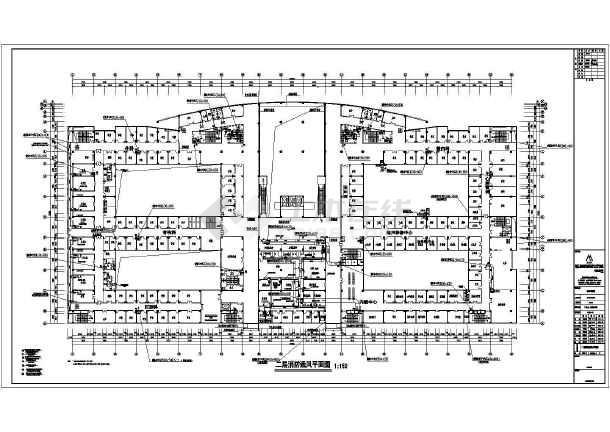 漳州市正兴医院门诊暖通空调设计图纸-图3