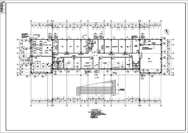 某地区五层行政办公楼建筑设计方案图