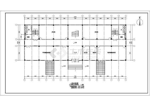 某职业中学五层实训楼建筑设计方案