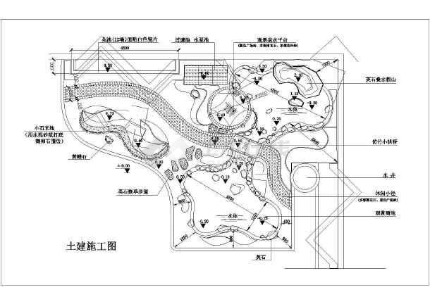多套庭院及屋顶花园景观种植和设计案例平面图