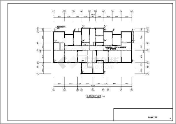 建筑高度为33.80米,建筑面积为xxxx平方米.建筑结构类型为剪力墙结构.