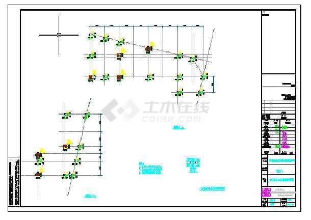 金湾3层商业建筑结构施工图纸