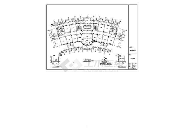 某地青少年儿童流浪保护中心建筑设计图纸游泳池比赛图纸图片
