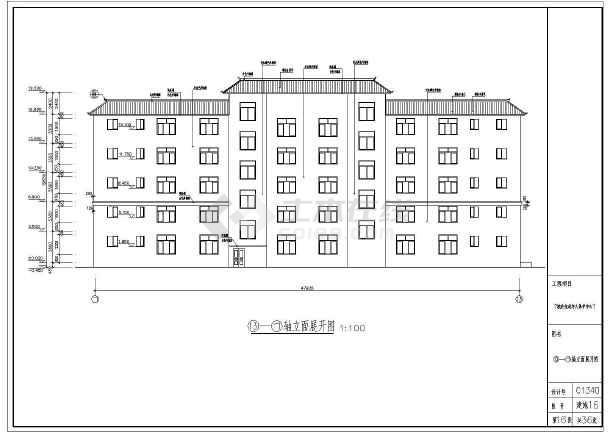 某地青少年儿童流浪保护中心建筑设计图纸康佳2121pp2182821828tk图纸彩电图片