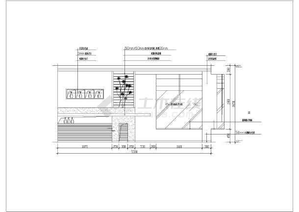 餐饮cad立面图_餐厅区装饰墙及酒架造型CAD立面图_cad图纸下载-土木在线
