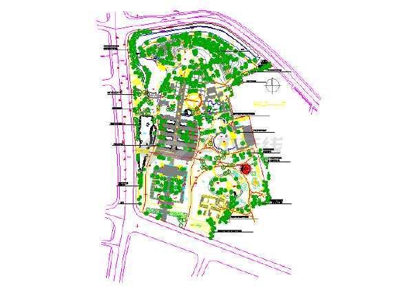 主题公园平面设计图
