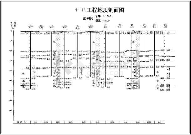 某住宅小区岩土工程v图纸图纸cad图纸乐高巴士报告拼装图片