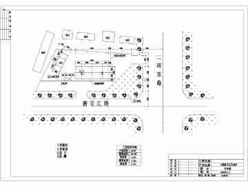 某加油站建筑,结构,设备基础设计施工图